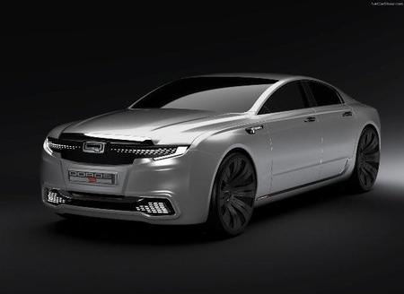Qoros 9 Concept, la invasión china en el segmento de los sedanes premium