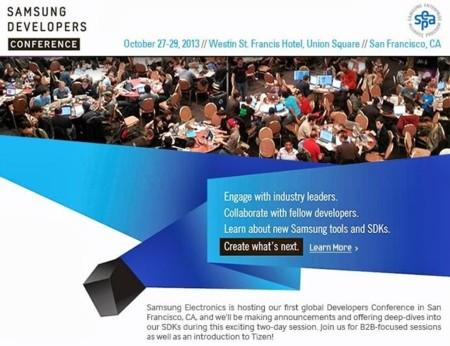 Se espera que Samsung presente Tizen en su conferencia para desarrolladores de octubre