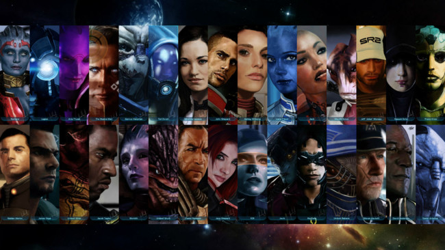 Mass Effect All Characters Articulo Opinion Videojuegos Zehngames