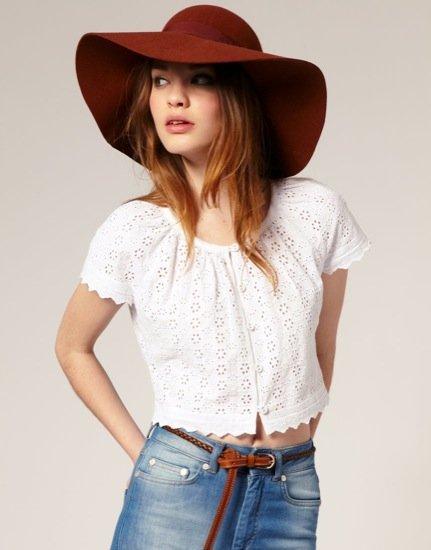 Asos pamela sombrero de moda