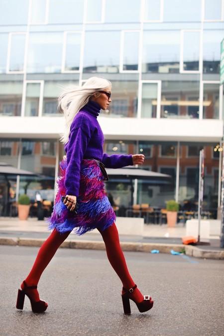 jewel tones street style