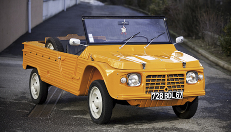 El Citroën Méhari volvería en formato eléctrico en 2013