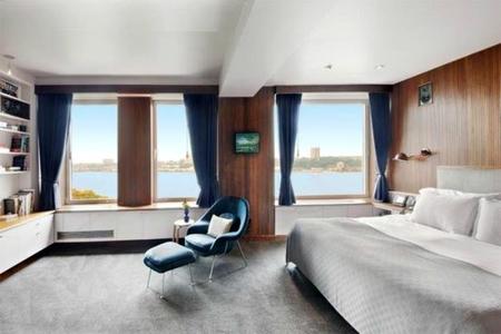 El dormitorio de Ben Stiller