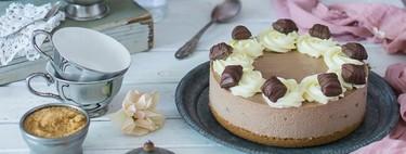 """De Nutella, Kinder Bueno o de chuches: siete tartas que son la definición de """"guilty pleasure"""" y muy fáciles de preparar"""