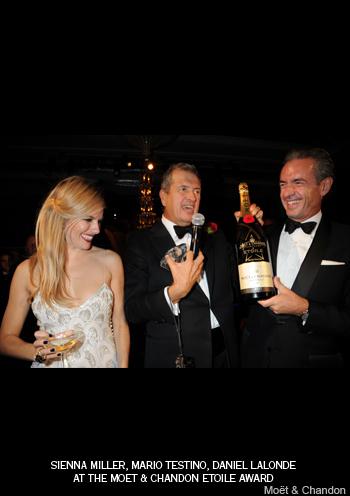 Moët & Chandon Etoile Award otorga el primer galardón a Mario Testino