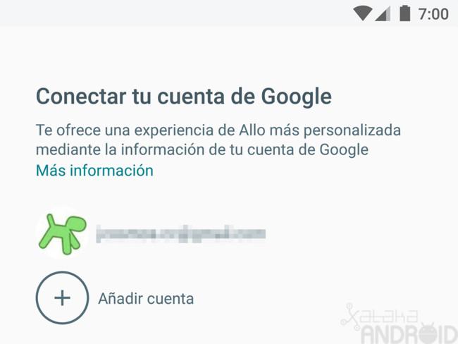 Allo Cuenta Google