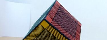 El cubo de Rubik más difícil del mundo pesa más de 3 kg y tiene 6.153 partes en forma de delgadas láminas de colores