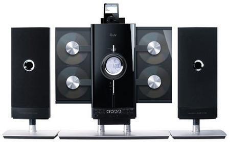 iLuv i9200, cargador de CDs con base para el iPod