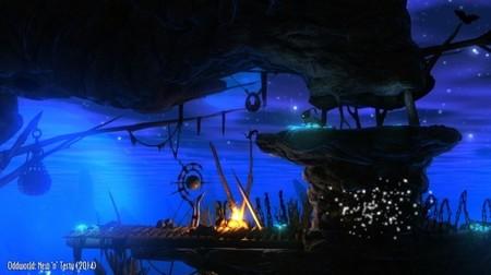 Otra imagen comparativa de Oddworld: Abe's Oddysee - New 'n' Tasty al canto