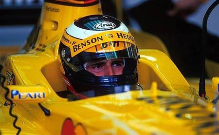 Pedro de la Rosa test Jordan 1999