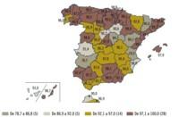 La provincia española con mayor cobertura 3G es ... Palencia