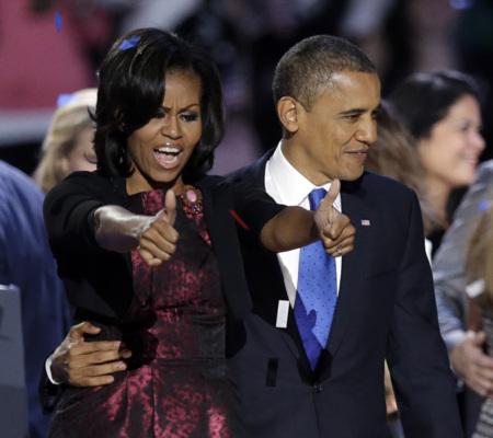 Michelle Obama victoria