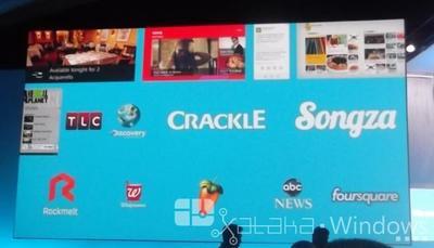Más aplicaciones para Windows 8.1: Foursquare, Songza, Yelp...