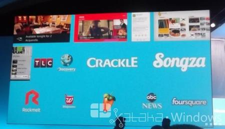 Más aplicaciones para Windows 8.1: Foursquare, Songza, Yelp...