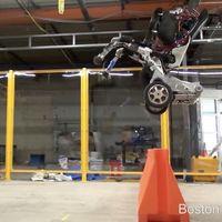 'Handle', el sorprendente robot de Boston Dynamics que salta y mantiene el equilibrio con sólo dos ruedas
