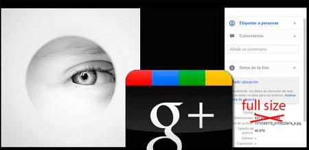 Truco Express: Cómo poner tus fotografías a máxima resolución en Google Plus