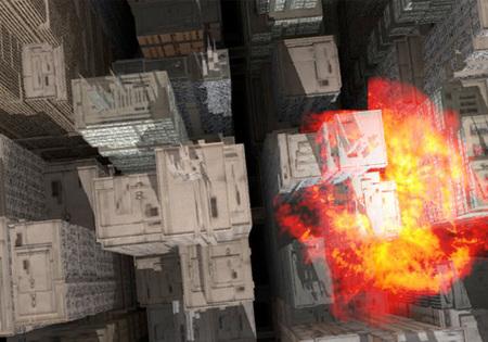Impresionante demo técnica, una ciudad entera para explorar... ¡y destruir!