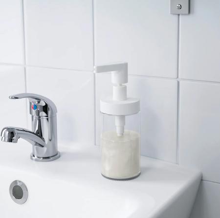Dispensador de jabón de Ikea