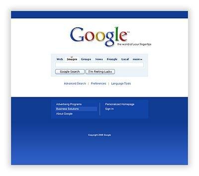 ¿Rediseñarías la página inicial de Google?