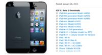 La beta 5 de iOS 6.1 viene cargada de datos y tal vez nos acerca al jailbreak untethered