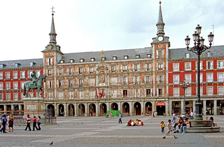 La Plaza Mayor de Madrid celebra su IV Centenario