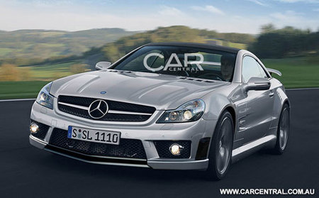 Mercedes-Benz SL65 AMG Black Series, ¿será así?