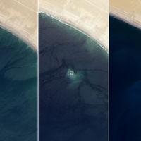 La aparición y desaparición de Zalzala Koh, la isla fantasma de Pakistán, explicada desde el aire