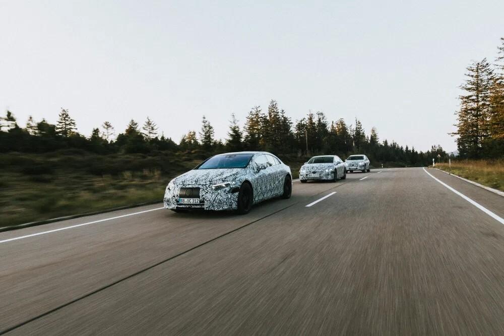 Mercedes-Benz anuncia su hoja de ruta para coches eléctricos: hasta seis modelos en los próximos dos años