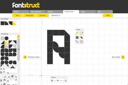 FontStruct, generando nuestra propia tipografía a través de Internet