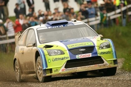 Ford rally champion