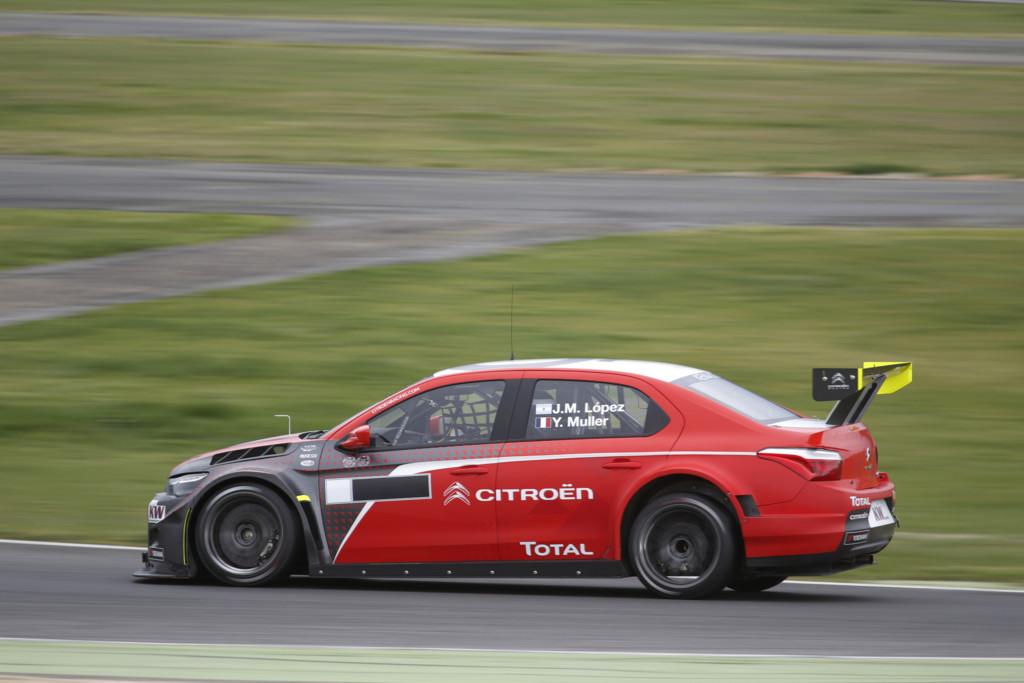 Citroen Muller Pechito Test Vallelunga 2016
