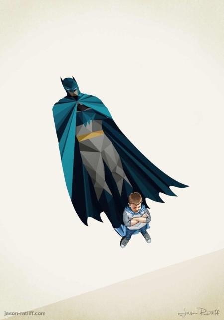 Batman siempre permanece en pie