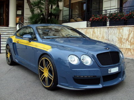 Bentley Continental GT por Mansory