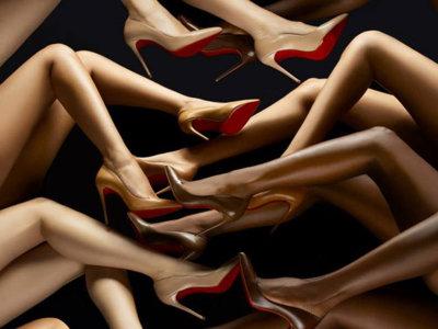 Si quieres parecer más alta, confía en la Nude Collection de Christian Louboutin