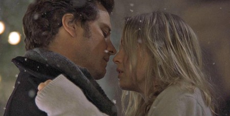 Bridget Jones Kiss Snow