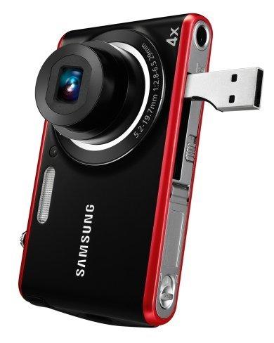Samsung PL90 viene con el USB puesto