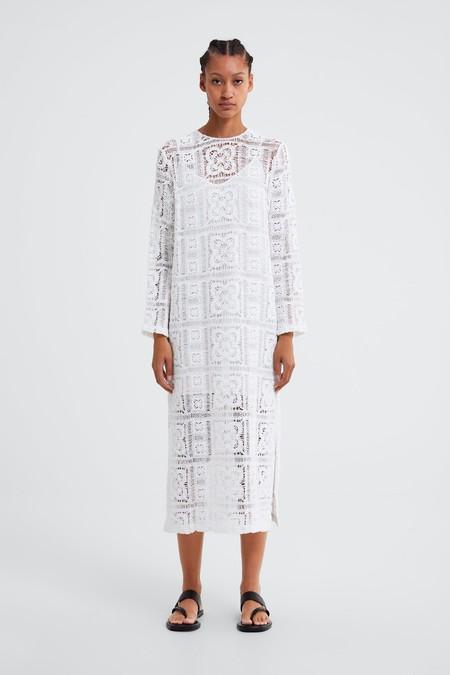 Zara Vestidos Primavera 2019 08