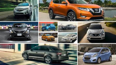 Te damos dos alternativas a cada uno de los diez autos más vendidos en México en 2016