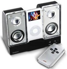 Nyko Sound Stage, altavoces para el iPod nano