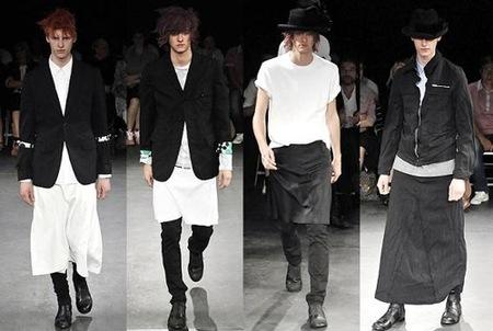 Tendencia Primavera-Verano 2009: Combinación negro y blanco, Comme des Garcons