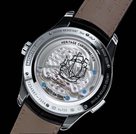 Montblanc Heritage Chronometrie Exotourbillon Vasco De Gama Reverso