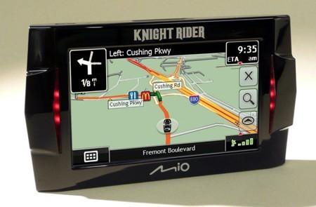 Navegador GPS con la voz de... K.I.T.T., de 'El coche fantástico'