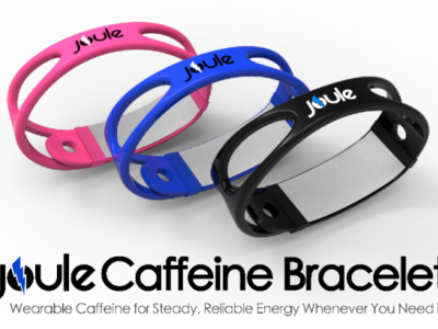 Joule es la manilla que te administra cafeína a través de la piel