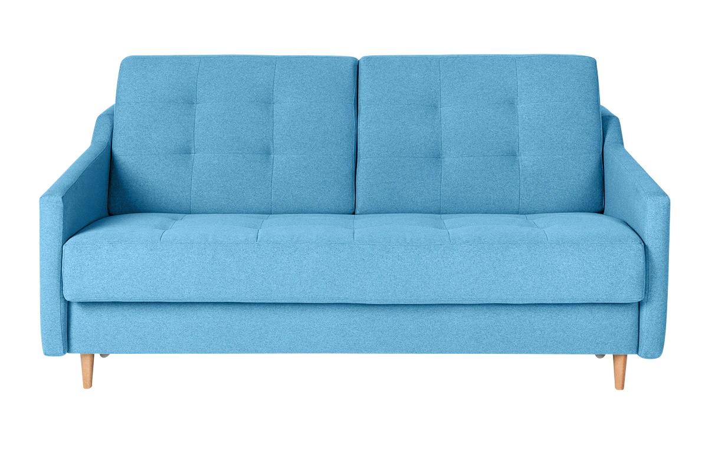 Sofá cama en azul