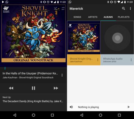 Maverick Music: un reproductor de música muy prometedor que revive el sueño roto de Google