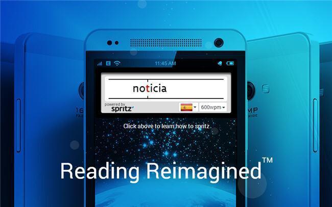 Spritz reinventa la lectura rápida: ¿quieres leer 1000 palabras por minuto?