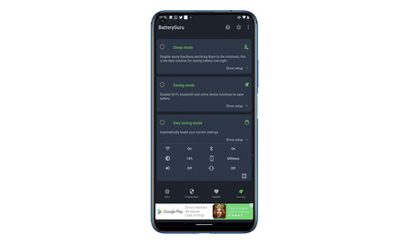 Batteryguru App