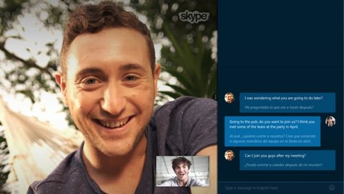Cómo funciona Skype Translator