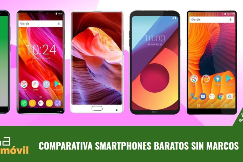 Los mejores móviles sin marcos entre 150 y 300 euros