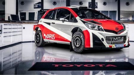 Del asfalto a la tierra, así es el nuevo Yaris WRC